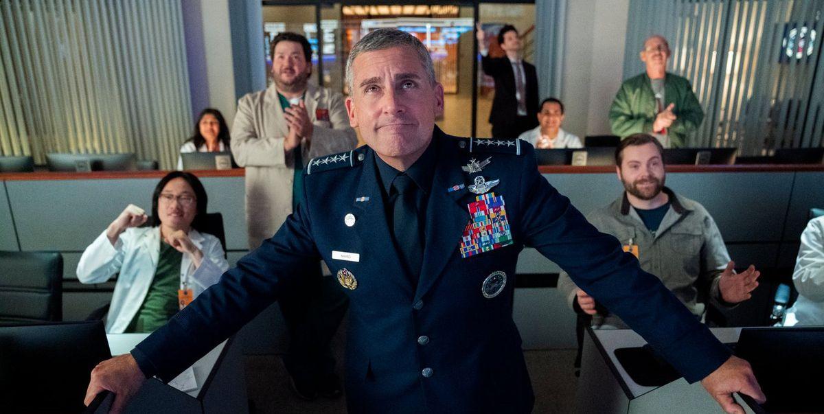 'Space Force': La misión espacial de Steve Carell que llega a Netflix esta semana