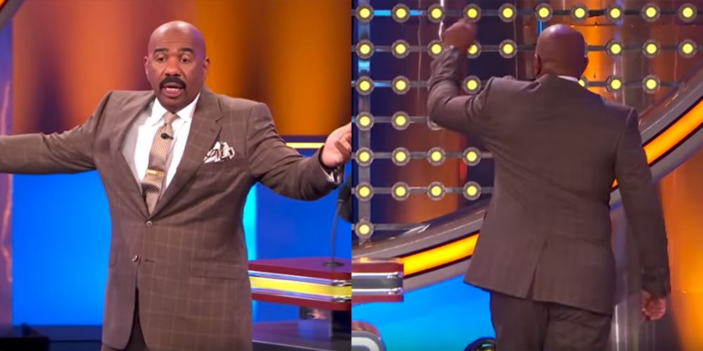 Fans React to Steve Harvey Walking Off the Set of 'Family Feud'