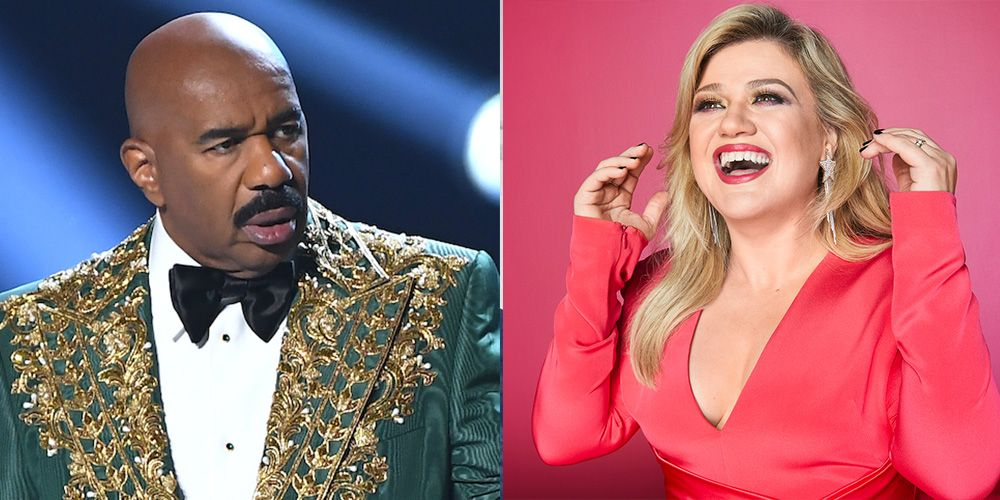 Steve Harvey Reveals How He Really Feels About Kelly Clarkson Taking His Talk Show Spot
