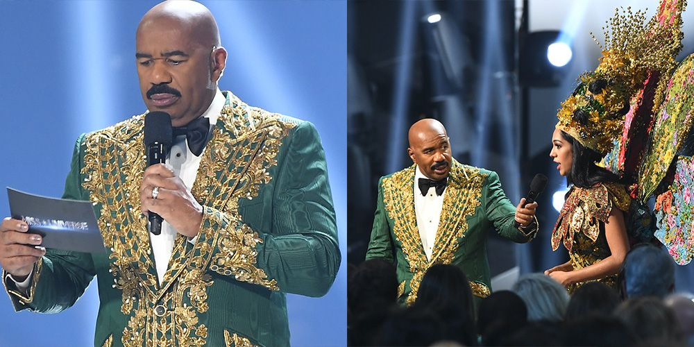 """Steve Harvey Posts Cryptic Message About """"Haters"""" After the Miss Universe Mix Up"""