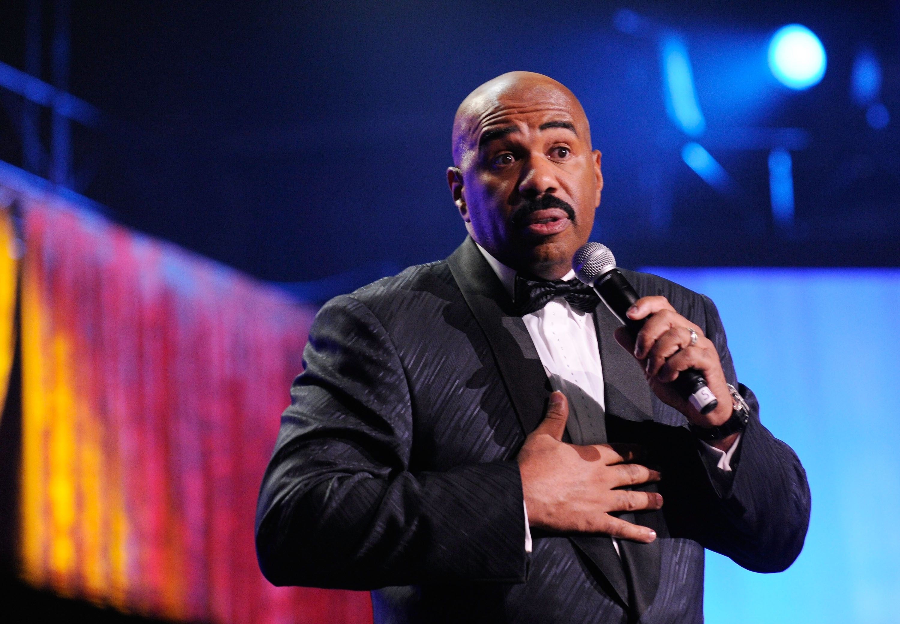 Steve Harvey From 'Family Feud' Just Got Real With an Audience