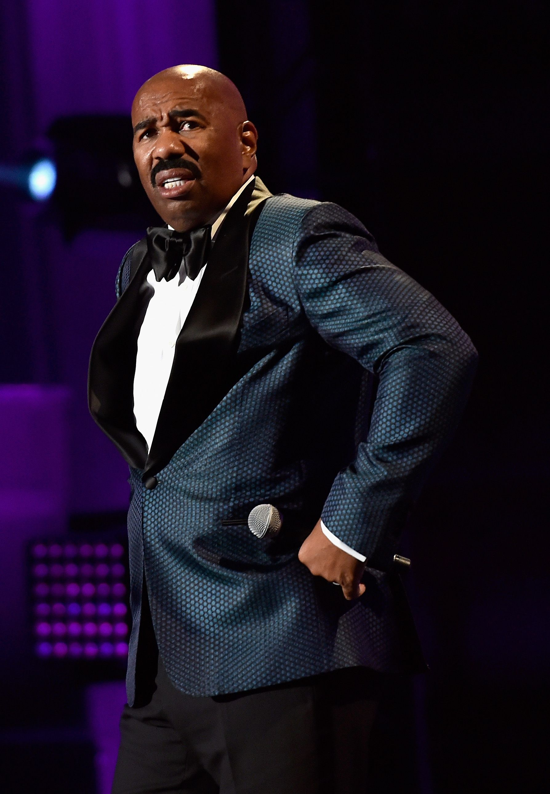 Steve Harvey transparent