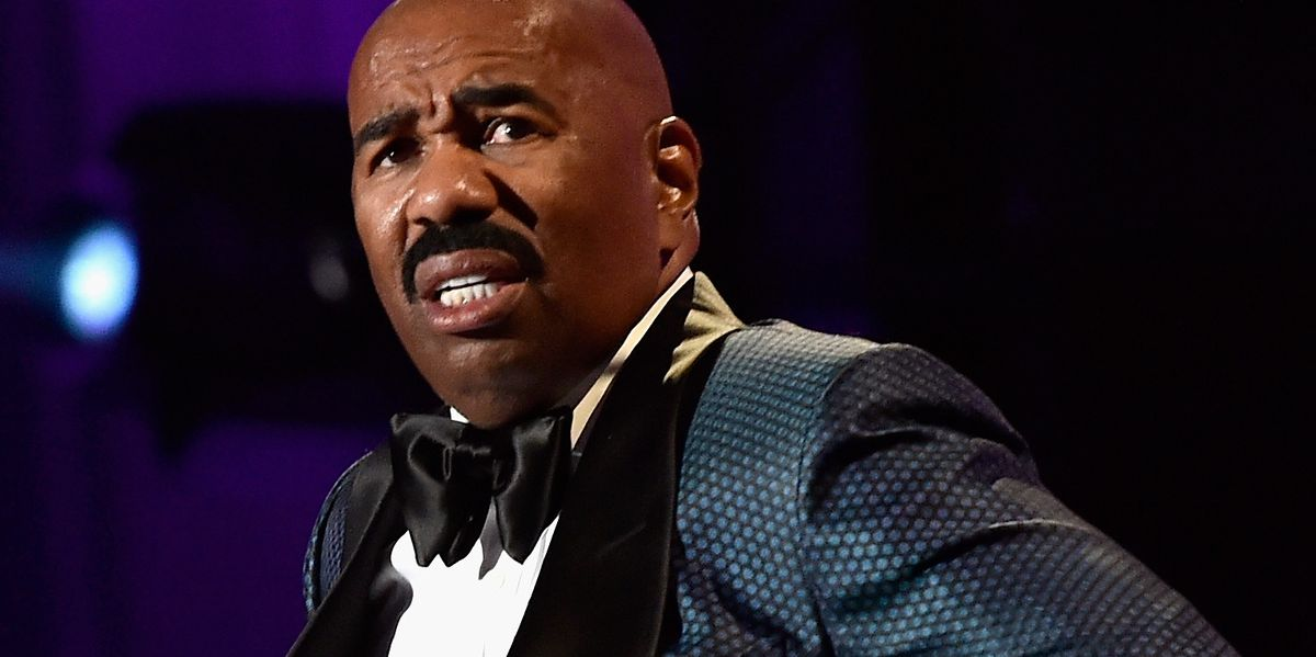 Steve Harvey Bares All About His Talk Show Getting