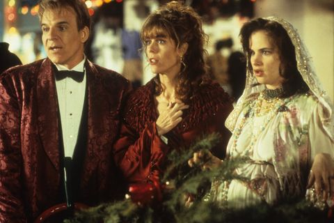 Steve Martin And Juliette Lewis In 'Mixed Nuts'