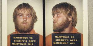 Steven Avery mugshot, Making a Murderer, Netflix