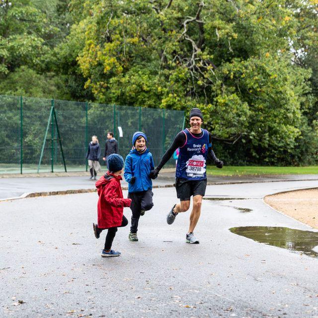 virtual london marathon runners in dulwich