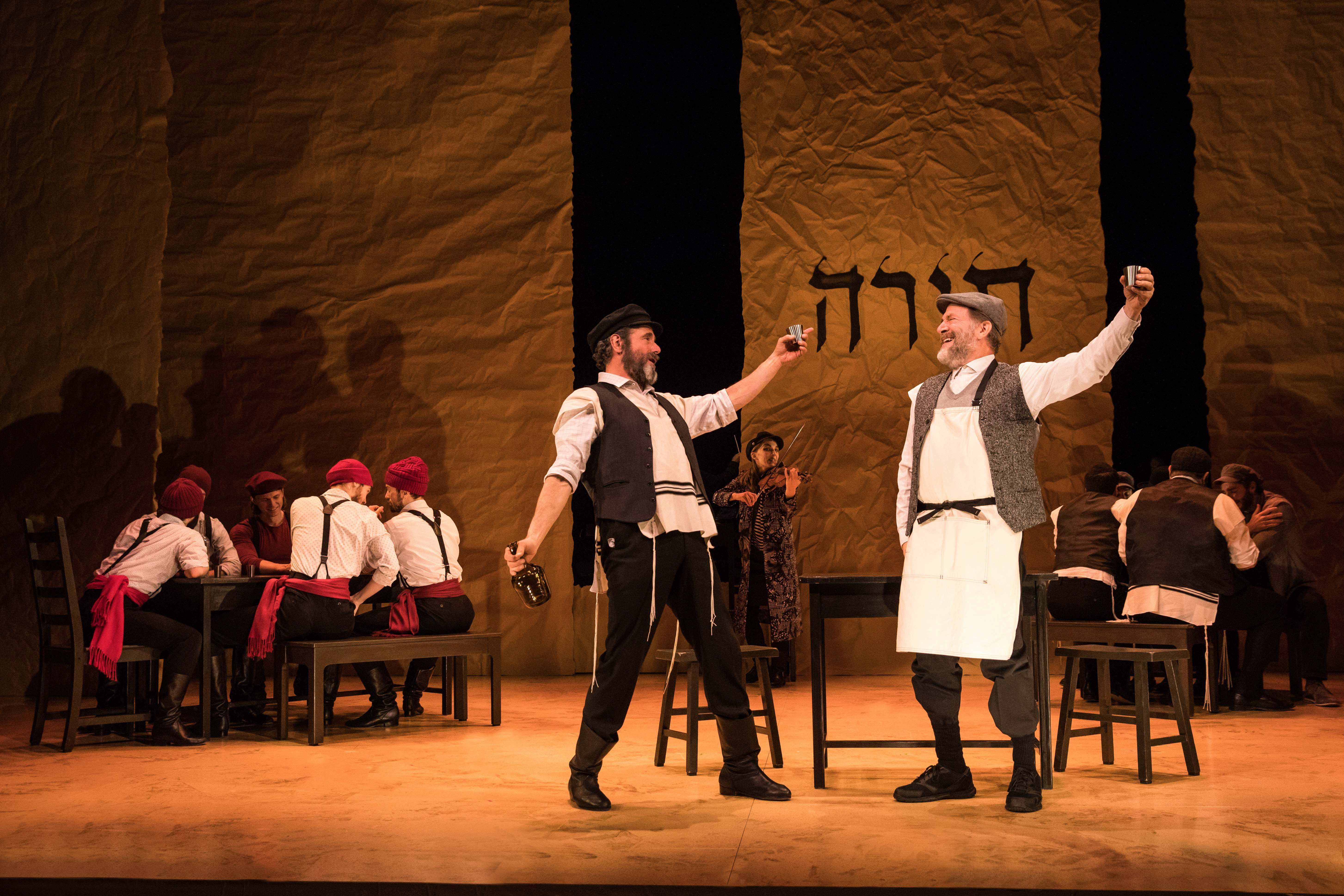 "ED Goes to Broadway: Behind the Scenes of ""Fiddler on the Roof"" in Yiddish"
