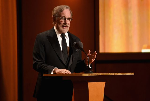 hollywood, ca   november 18  steven spielberg speaks onstage during the academy of motion picture arts and sciences 10th annual governors awards at the ray dolby ballroom at hollywood  highland center on november 18, 2018 in hollywood, california  photo by kevin wintergetty images