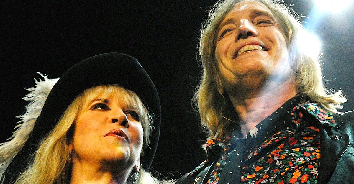 Watch Tom Pettys Final Performance With Stevie Nicks Stevie Nicks