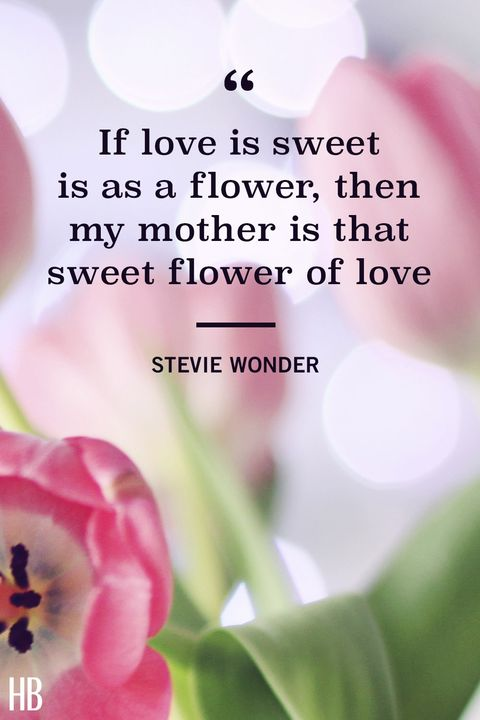 stevie wonder mothers day quote