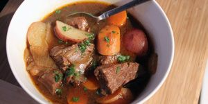 Beef and Guinness Stew with 300x150