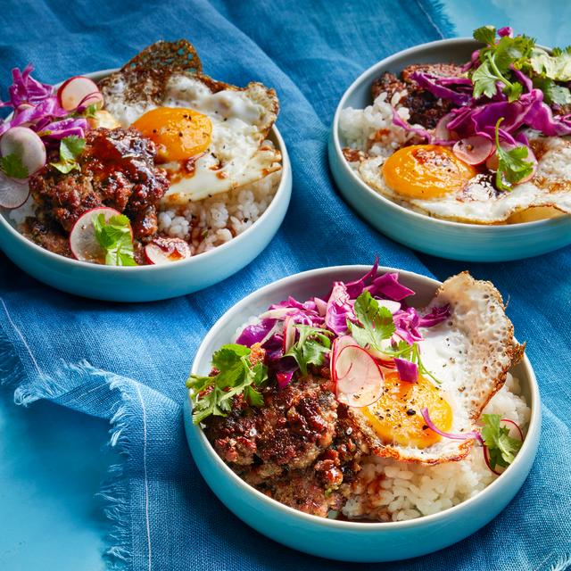 sticky rice bowl recipe