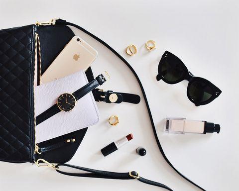 White, Bag, Handbag, Fashion accessory, Strap,