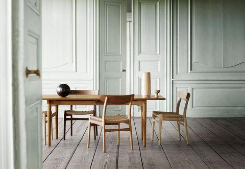 Wood, Floor, Flooring, Room, Hardwood, Wood stain, Interior design, Table, Wood flooring, Door,