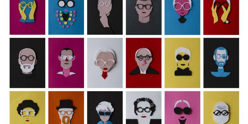 Gli occhiali da vista più famosi del design, illustrati