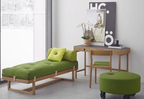 Wood, Green, Room, Interior design, Wall, Floor, Furniture, Flooring, Interior design, Hardwood,