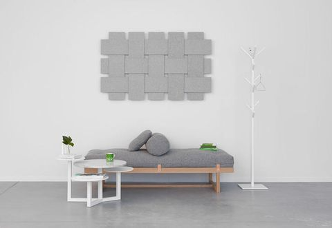 Room, Table, Wall, Interior design, Floor, Coffee table, Rectangle, Couch, Outdoor furniture, Grey,