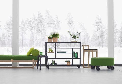 Green, Product, Wood, Floor, Rolling, Fog, Mist, Plastic, Bed frame, Haze,