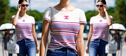 T-shirt, Clothing, Shoulder, Sleeve, Cool, Neck, Pink, Fashion, Jeans, Top,