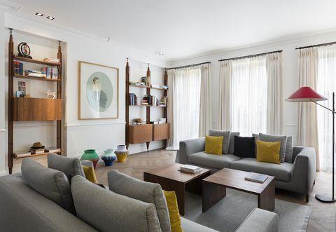 Stili arredamento casa diversi in una casa vittoriana a Londra