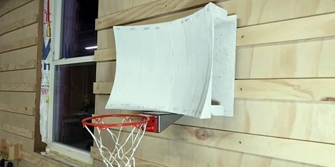 Easy Origami Basketball Hoop Folding Instructions | 240x480