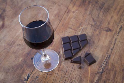 chocolate, wine, beer live longer