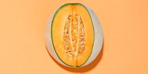 Muskmelon, Galia, Melon, Cantaloupe, Fruit, Yellow, Orange, Plant, Food, Cucumis,