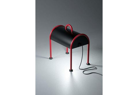 Musical instrument accessory, Parallel, Maroon, Steel, Cleanliness, Plastic, Aluminium, Armrest,