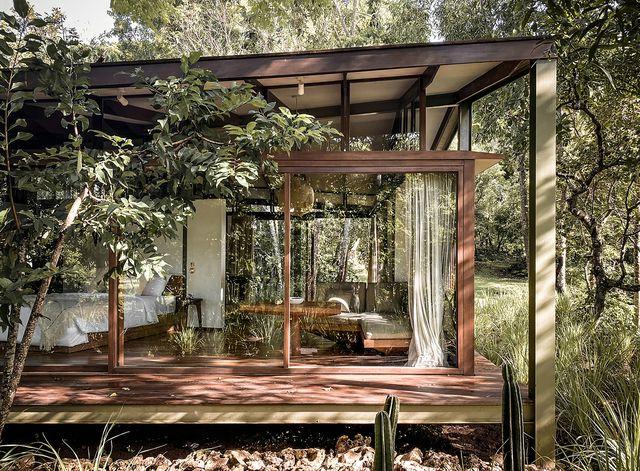 tetra pod, una casa diseñada por  stilt studios