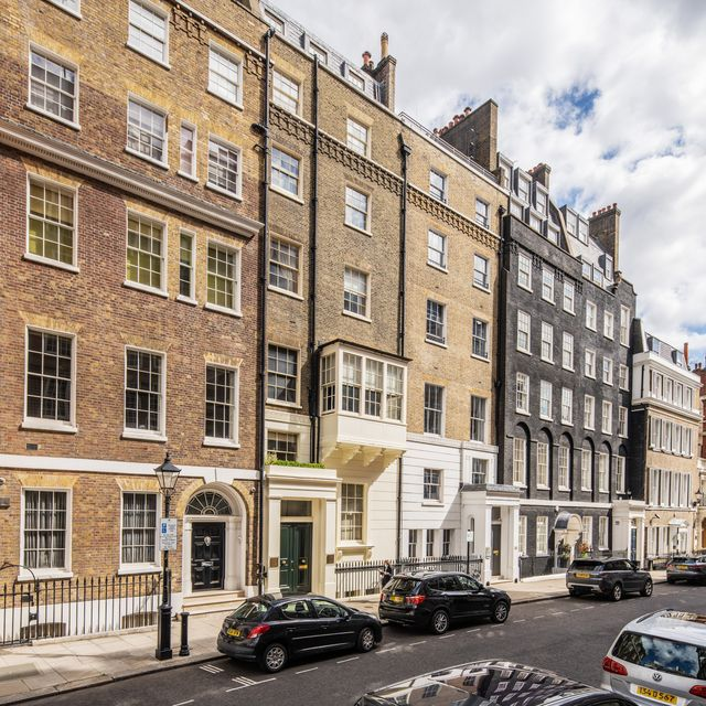 the former london home of renowned music icon sting is up for sale on old queen street, westminster, for a cool £1295 million