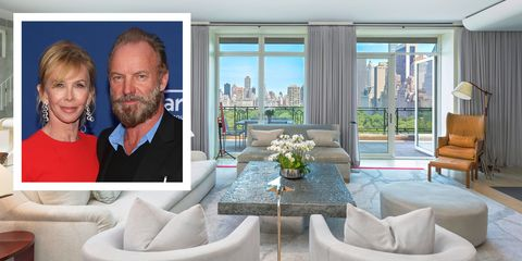 Sting Trudie Styler New York City Apartment