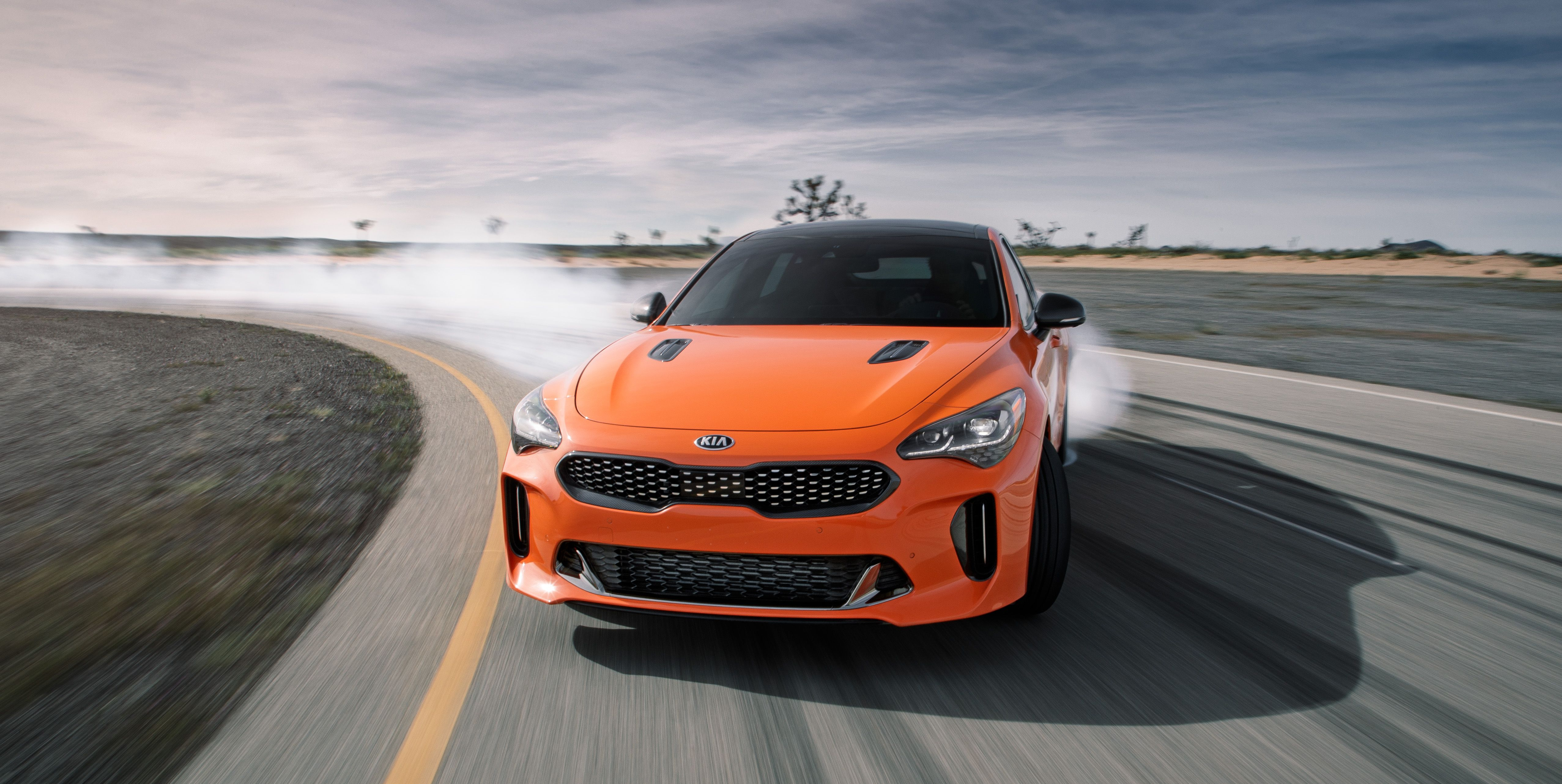 2020 Kia Stinger GTS Is an Orange Special Edition with a Drift Mode up Its Sleeve