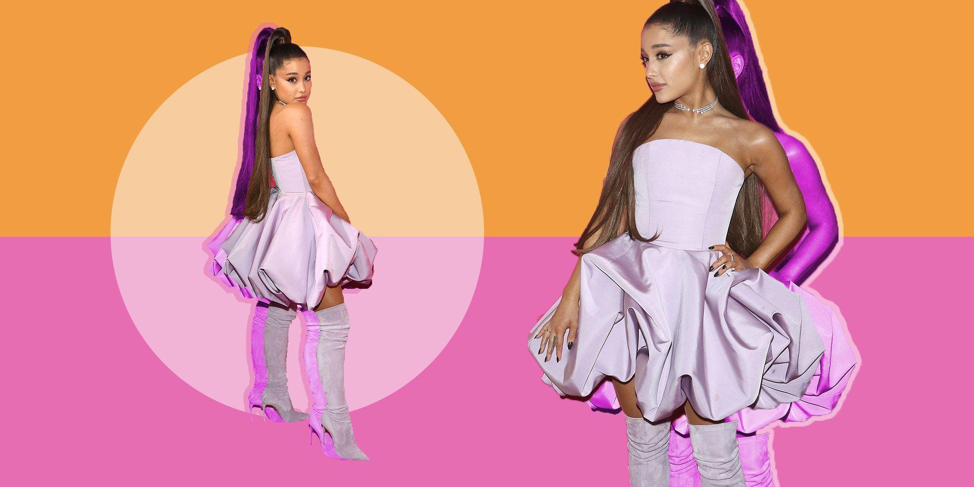 Stivali alti inverno 2019, i cuissard di Ariana Grande