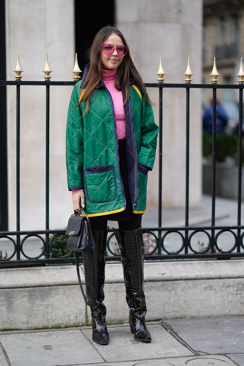 stivali di vernice moda autunno inverno 2018 2019
