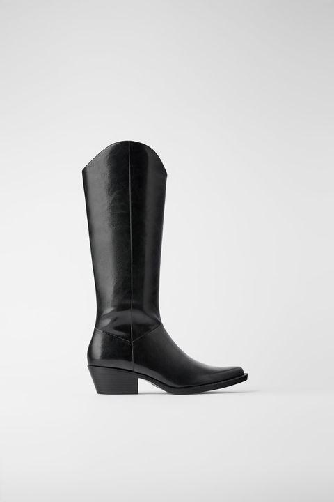 best cheap 7e5eb c8f95 Stivali inverno 2019, i texani di Zara per ogni outfit moda
