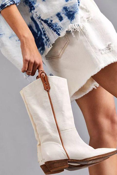 stivali estivi 2021 bianchi