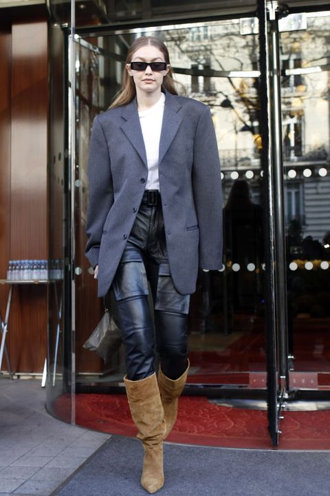 Celebrity Sightings In Paris - January 20, 2020