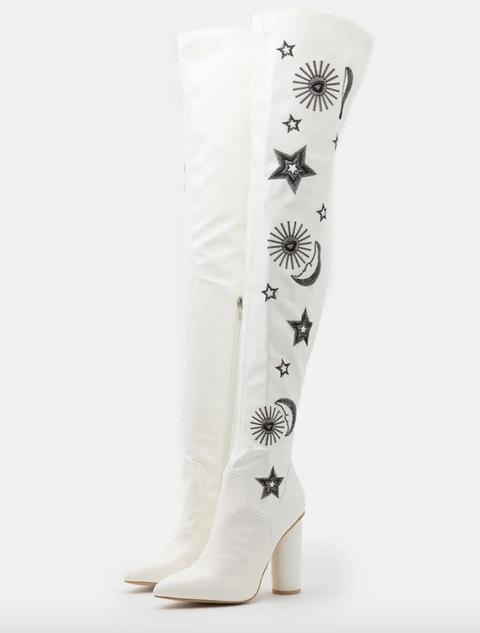 stivali bianchi moda autunno inverno 2020 2021
