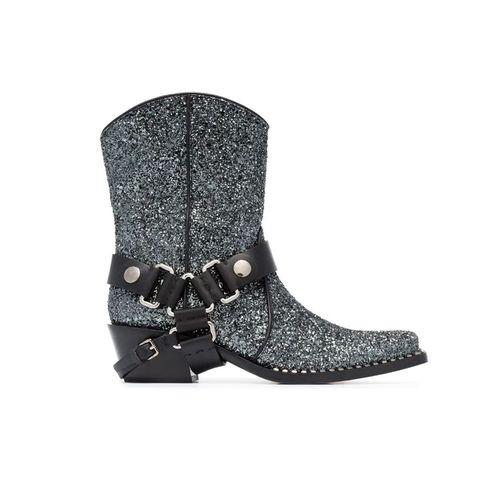 Gli stivali texani glitter   cowgirl chic 23abc7183f6