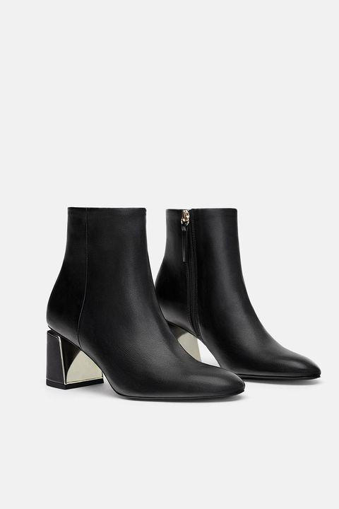 migliori scarpe da ginnastica 8c38d 332f5 Scarpe moda 2019: gli stivali di Zara per l'autunno inverno ...