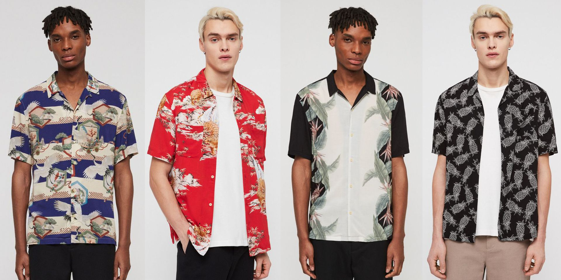 Allsaints' Massive Summer Sale Is the Perfect Way to (Finally) Indulge in a Great Hawaiian Shirt