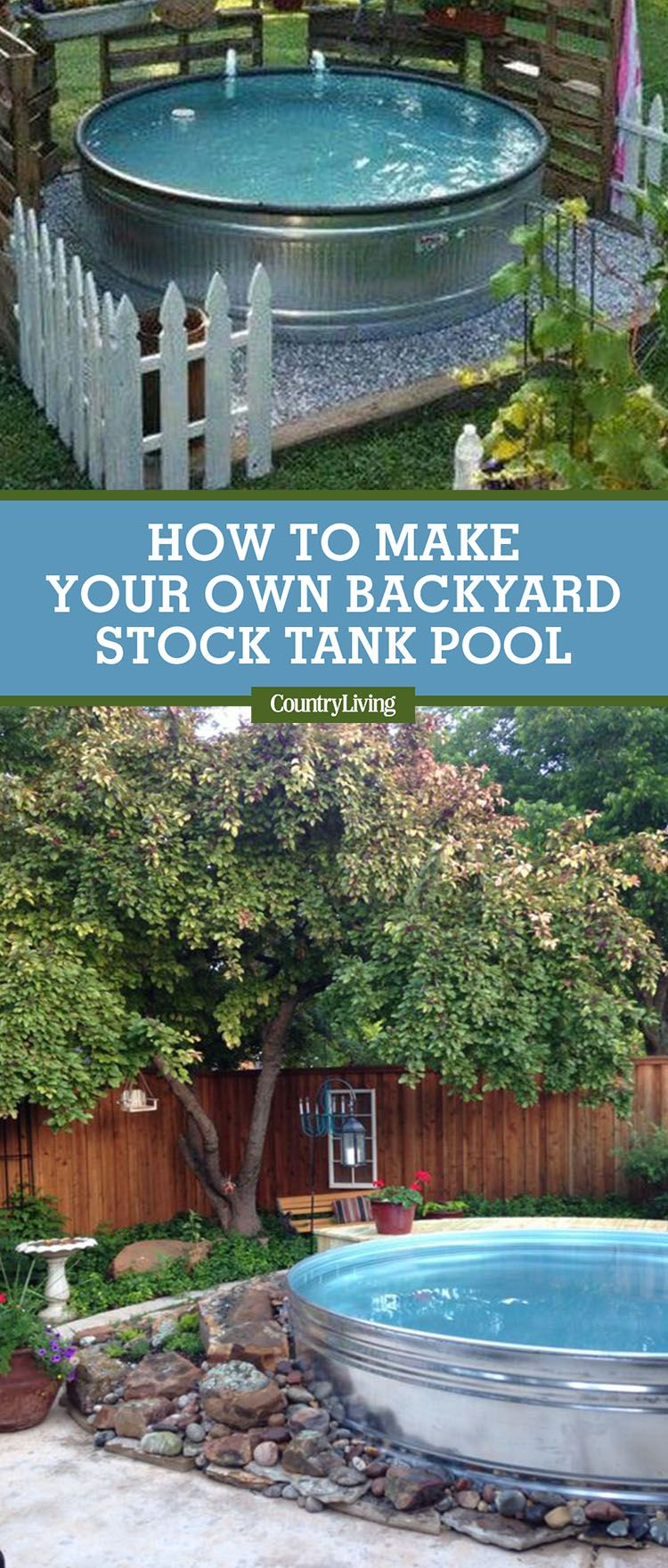Stock Tank Swimming Pool Ideas How To Make A Pool From A