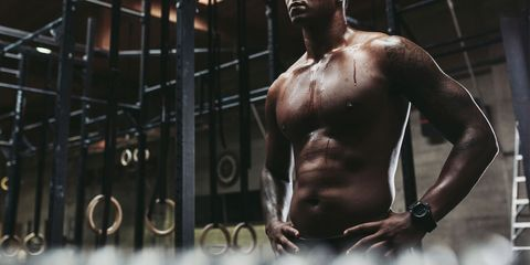 Barechested, Muscle, Bodybuilding, Chest, Bodybuilder, Arm, Abdomen, Shoulder, Physical fitness, Fitness professional,