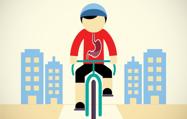 What Happens to Your Stomach When You Ride | Bicycling