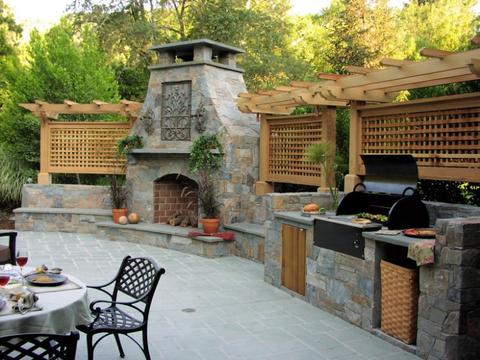 Admirable 20 Best Outdoor Kitchen Ideas And Designs Pictures Of Squirreltailoven Fun Painted Chair Ideas Images Squirreltailovenorg