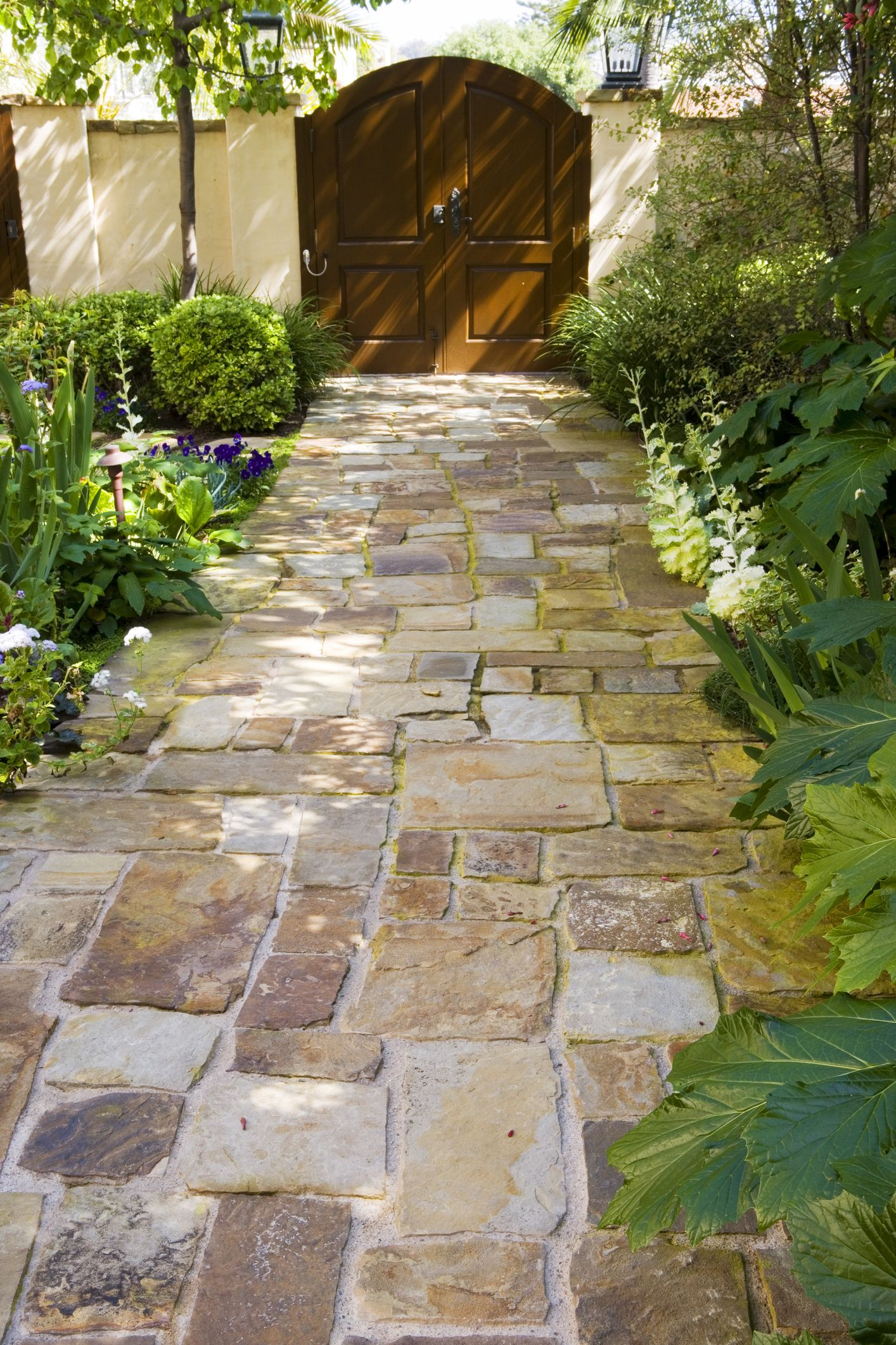 landscaping paths and walkways 18 Stunning Stone Walkways Garden Path Ideas