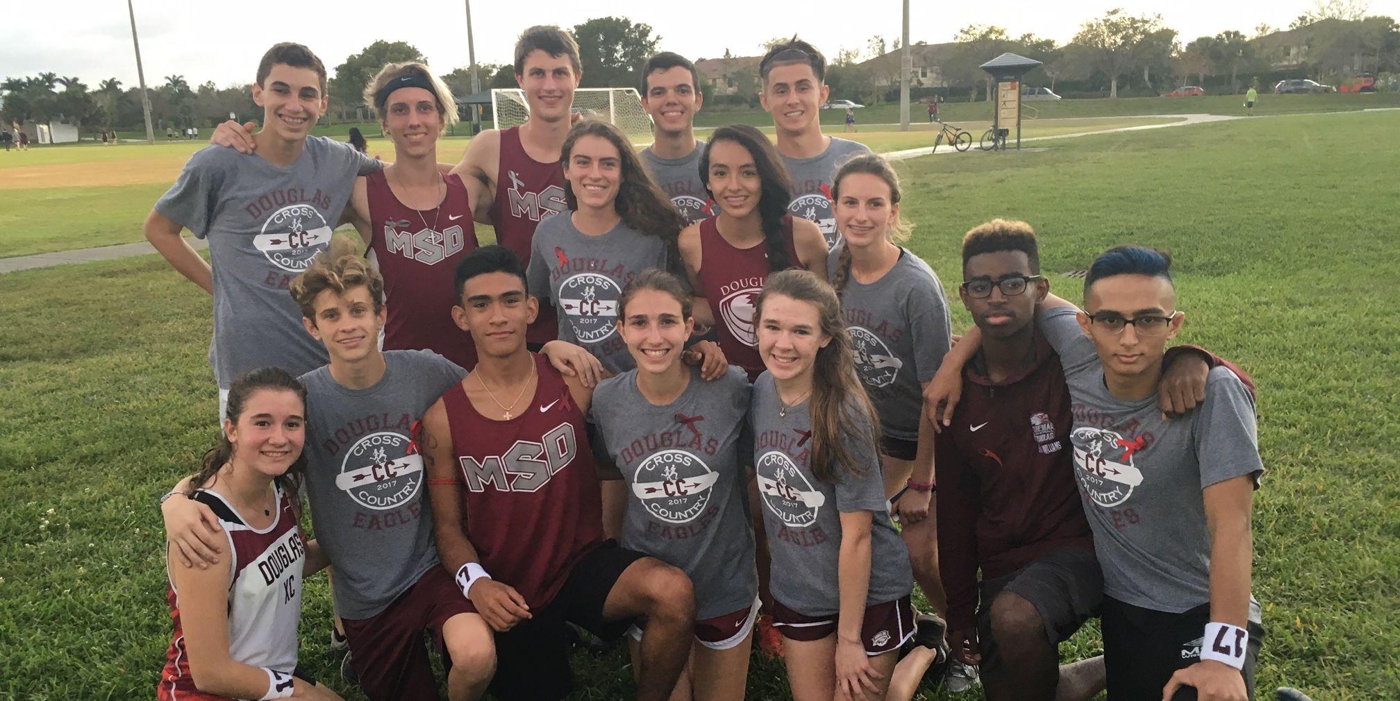 Marjory Stoneman Douglas High School cross-country team