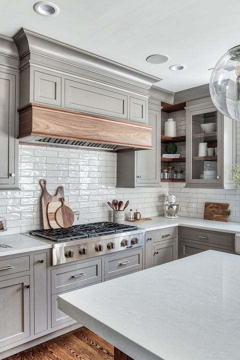 Countertop, Cabinetry, Furniture, Room, White, Kitchen, Property, Interior design, Ceiling, Floor,
