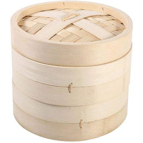 stoommandje, 2 lagen bamboe