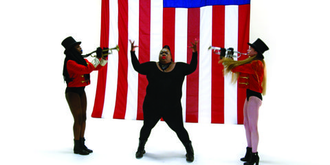 Flag, Flag of the united states, Gesture, Talent show,
